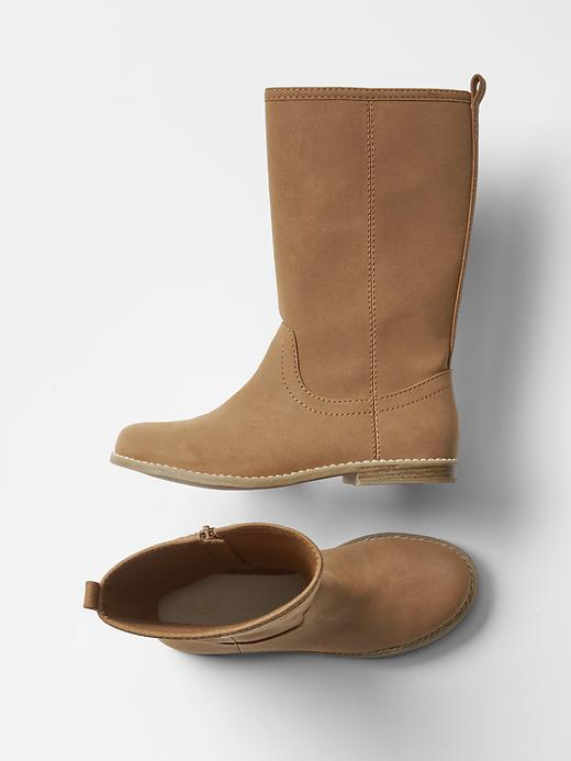Gap Girls Tall Boots Size 2 - Medium brown