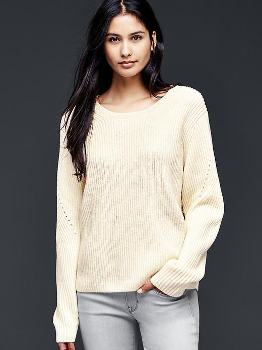 Gap Dolman Pullover Sweater Size XS - Snow cap