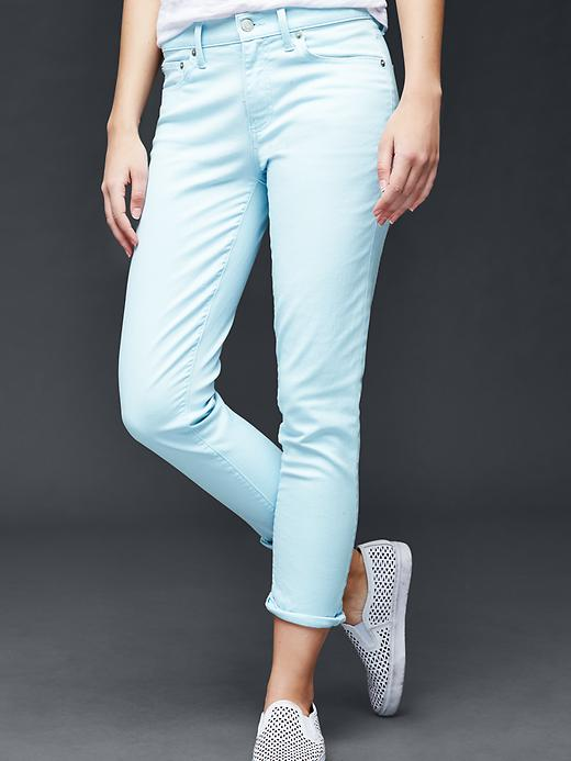 Gap AUTHENTIC 1969 Best Girlfriend Jeans Size 27 Tall - Daybreak blue