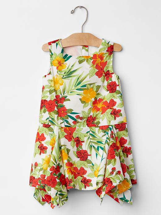 Gap Floral Layer Dress Size 12-18 M - Floral