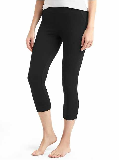Pure Body Crop Sleep Leggings