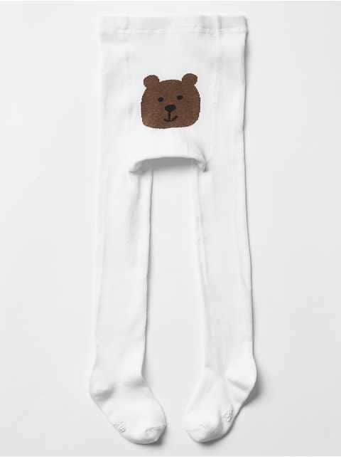 Solid bear tights