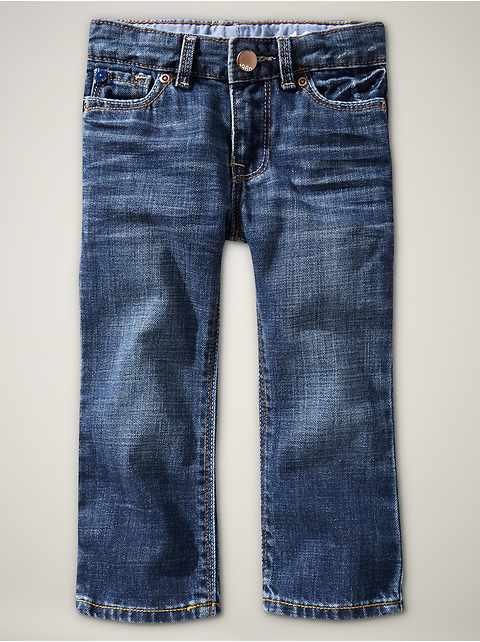 Playdate straight jeans (faded medium wash)