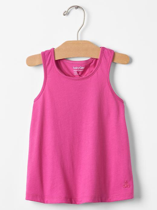 Gap Racerback Knot Tank Size 12-18 M - Happy pink