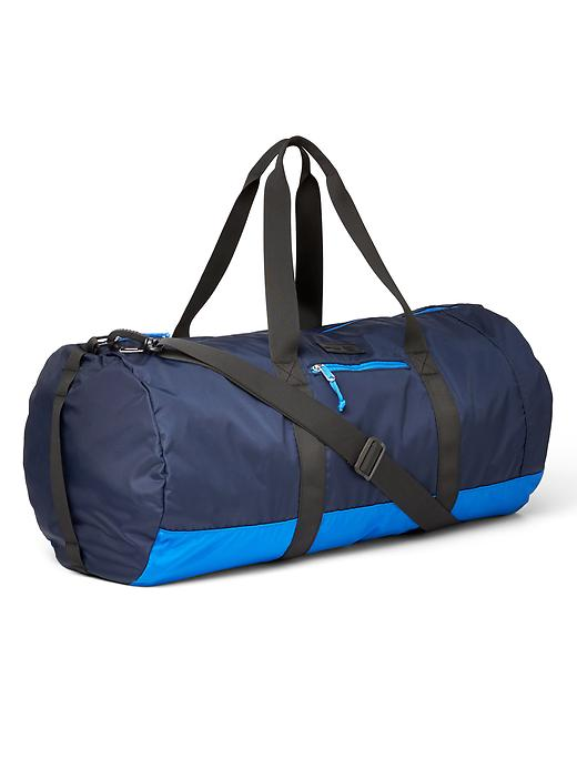 Gap Men Nylon Packable Duffel Bag Size One Size - Blue