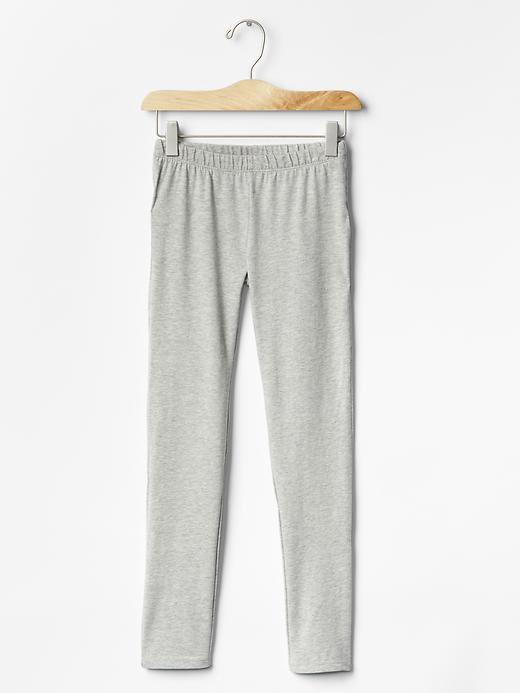 Gap Girls Solid Leggings Size XL - Gray
