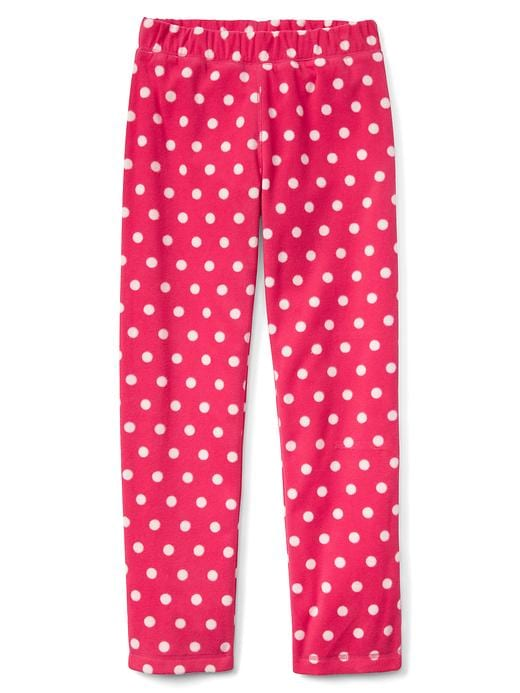 Gap Girls Print PJ Pants Size 6 - Jelly bean pink