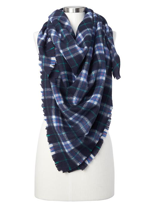 Gap Women X Pendleton Blanket Scarf Size One Size - Dark night