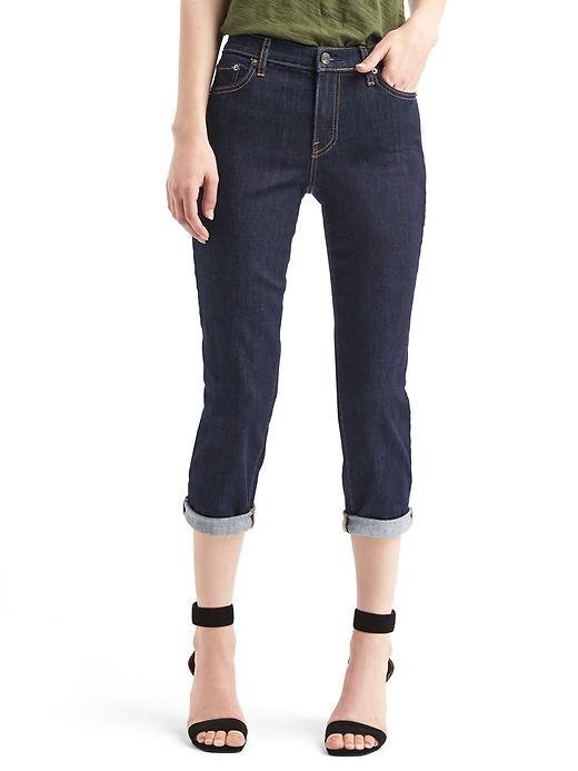 Gap Women AUTHENTIC 1969 Slim Crop Jeans Size 28 Regular - Rinse