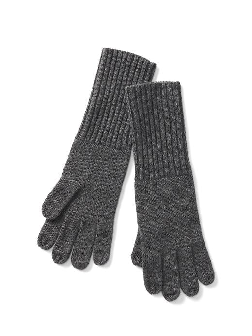 Gap Women Cashmere Tech Gloves Size One Size - Charcoal