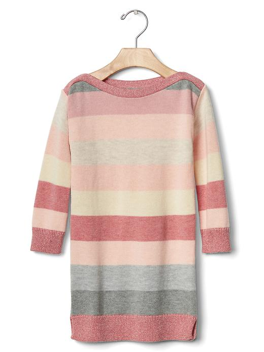 Gap Pastel Stripes Sweater Dress Size 12-18 M - Pink stripe