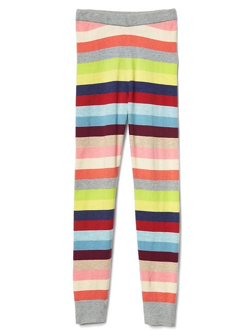 Gap Girls Bright Stripes Sweater Leggings Size L - Multi stripe