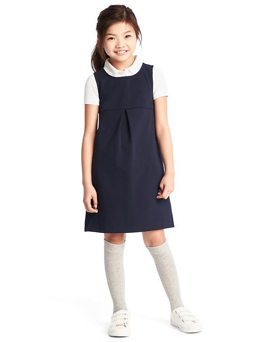Gap Girls Knit Schoolgirl Jumper Size L Plus - True indigo
