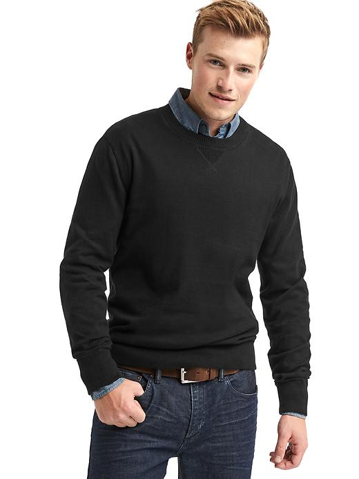 Gap Mens Cotton Crewneck Sweater