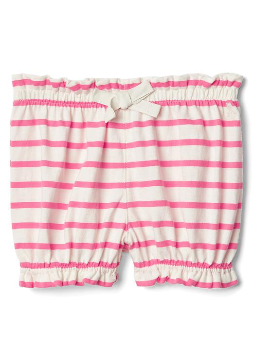Gap Print Bubble Shorts Size 12-18 M - Pixie dust pink