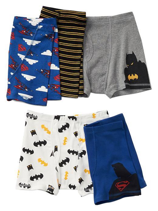 Gap Boys Gapkids + Junk Food Superhero Trunks 5 Pack Size XXS - Super heros