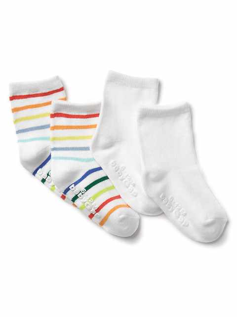 First Favorite Stripe Socks (2-Pack)