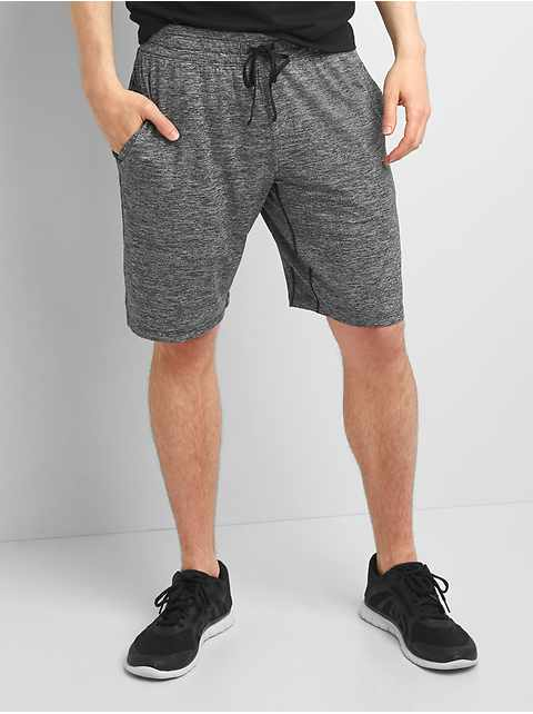 "GapFit 10"" Brushed Tech Jersey Shorts"