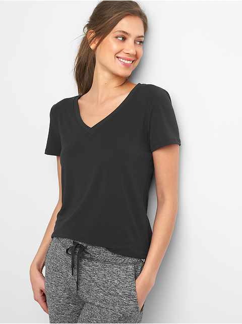 Breathe V-Neck T-Shirt