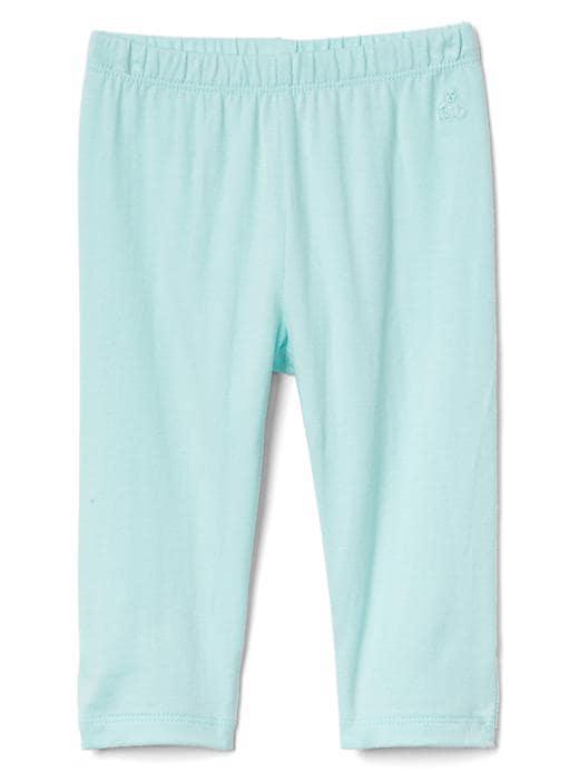 Gap Bow Back Leggings Size 0-3 M - Ballerina blue
