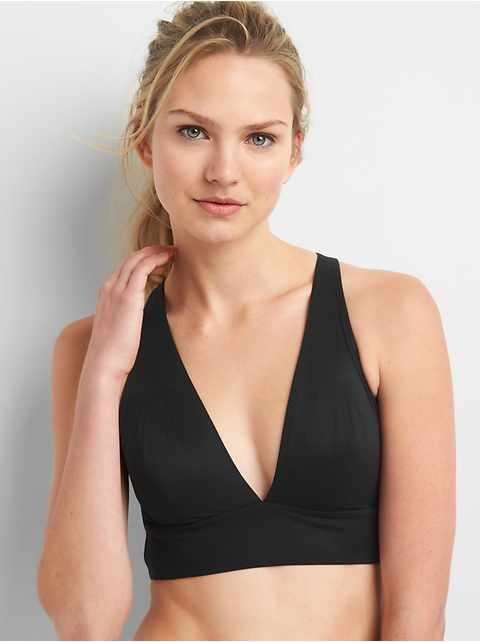 Live-In Pretty Plunge Crossback Bralette