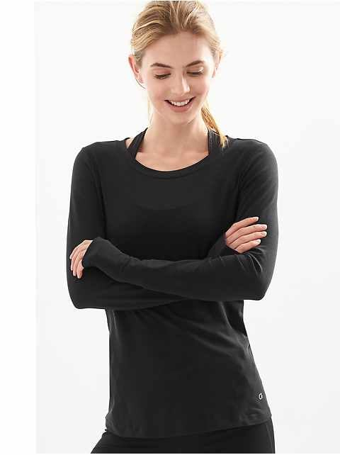 GapFit Breathe Long Sleeve T-Shirt