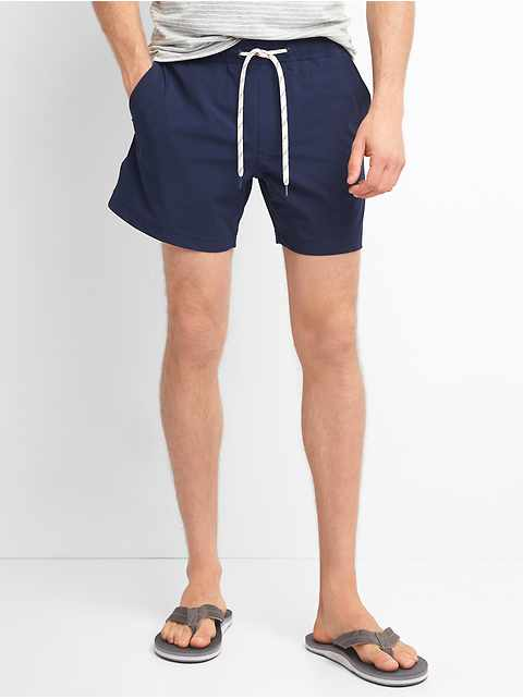 "5"" Solid Swim Trunks"