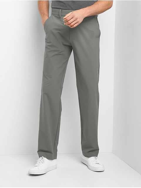 Hybrid Khakis in Straight Fit with GapFlex