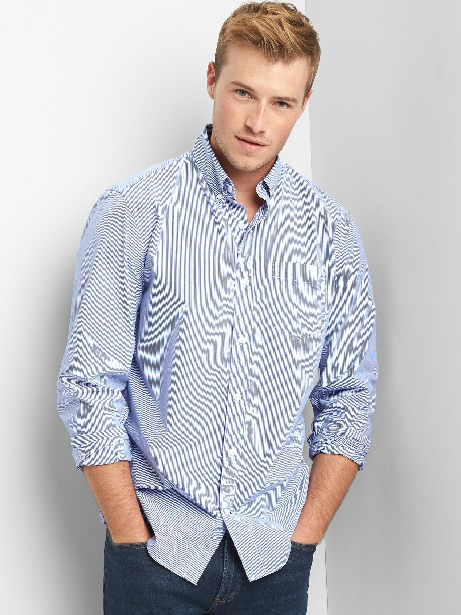 Gap True Wash Standard Fit Shirt