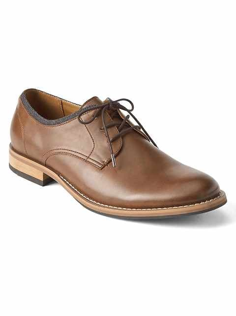 Lace-Up Dress Shoes