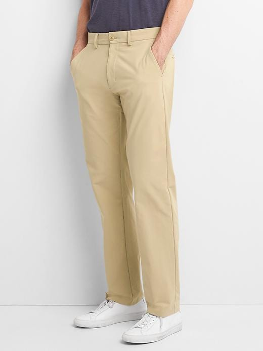 Gap Men's GapFlex Straight Fit Hybrid Khakis