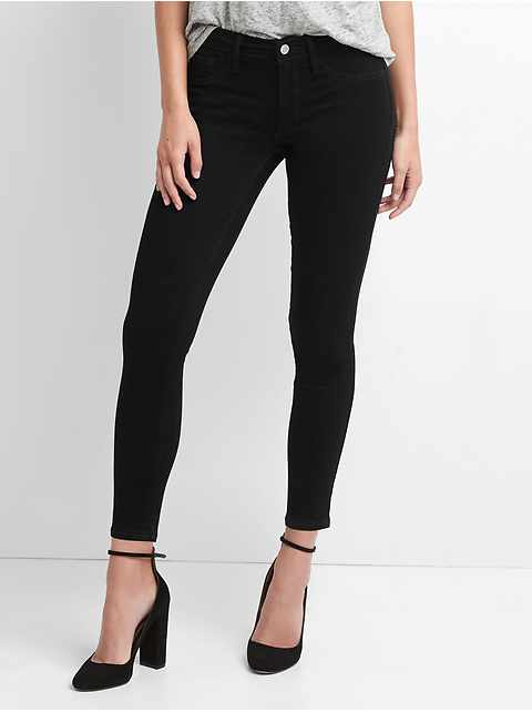 Washwell Mid Rise Favorite Ankle Jeggings