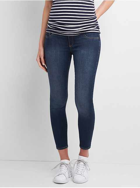 Maternity Full Panel Favorite Ankle Jeggings