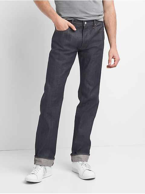 Selvedge Straight Jeans