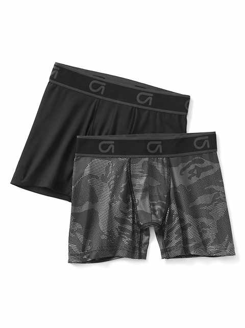 Perforated boxer briefs (2-pack)