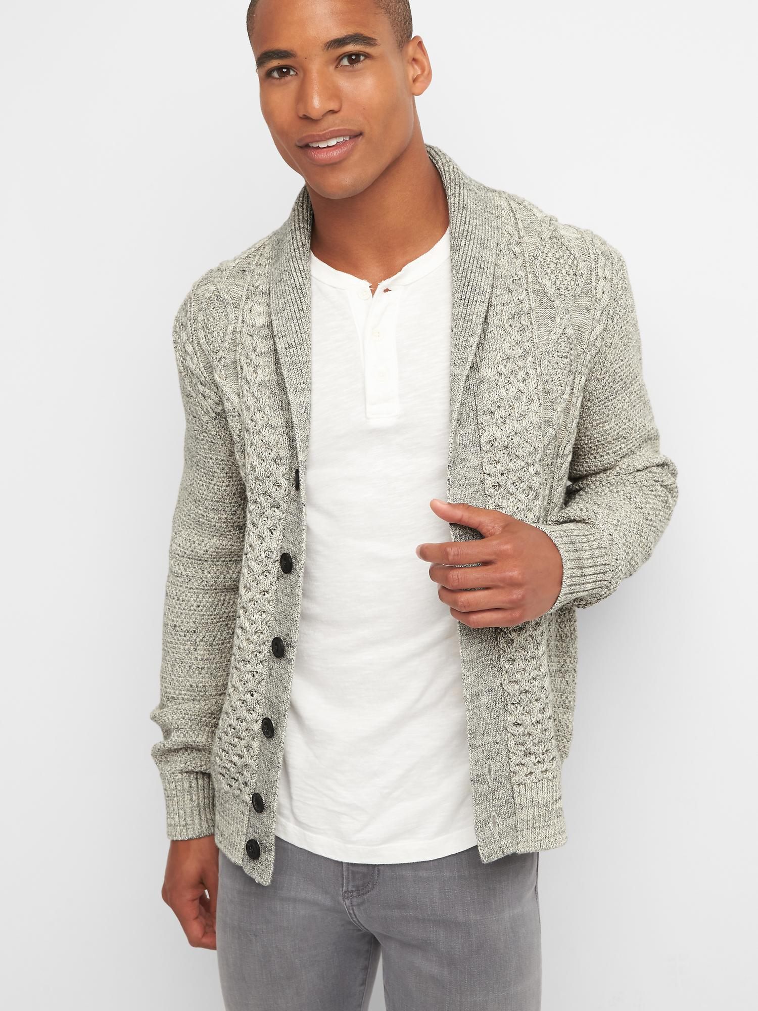 Cable-knit cardigan | Gap