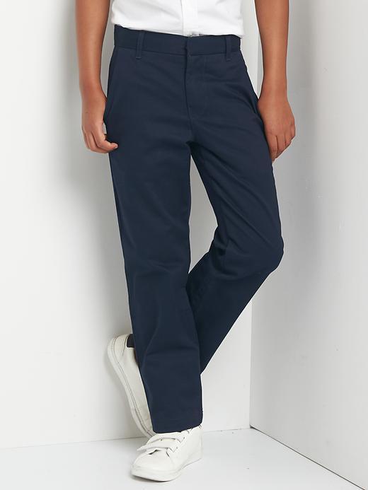 Gap Boys Dress Pants Size 5 - Blue galaxy