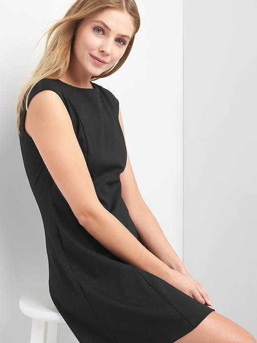 Gap Cap sleeve Fit and Flare Womens Dress