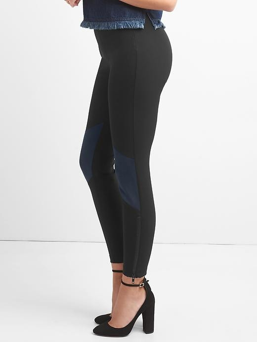 Sculpt Faux Suede Sleek Leggings