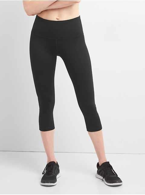 GFast High Rise Blackout Crop Capris