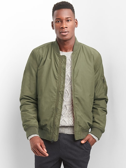 Gap Mens Classic Bomber Jacket