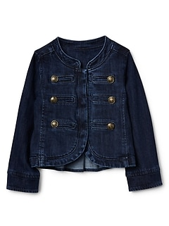 Icon Denim Band Jacket
