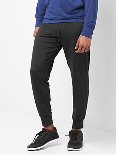 GapFit brushed tech jersey joggers
