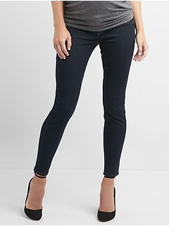 Maternity Inset Panel True Skinny Jeans