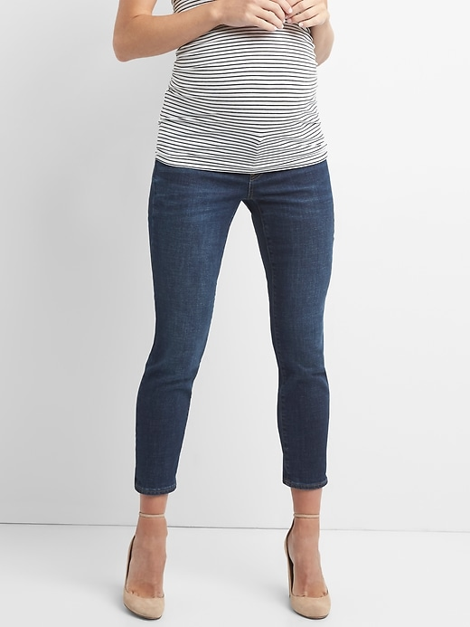 Maternity Inset Panel Best Girlfriend Jeans