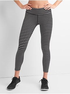 GapFit Blackout Stripe 7/8 Leggings
