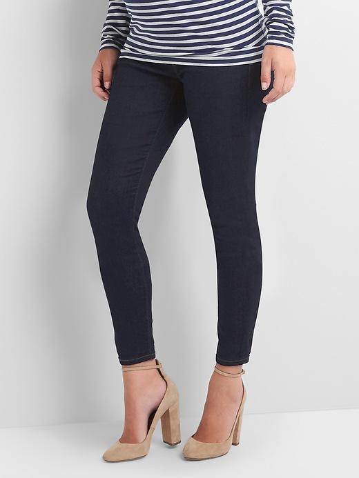 Full Panel True Skinny Jeans