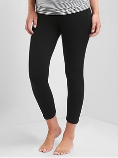Maternity Pure Body Full Panel Capri Leggings