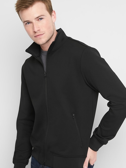 Gap Mens Tricot Track Jacket