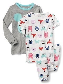 Critter PJ Set (3-pack)